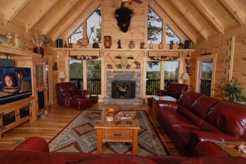 Ken Knights Wilderness Lodge 6 Bedroom Cabin Rental