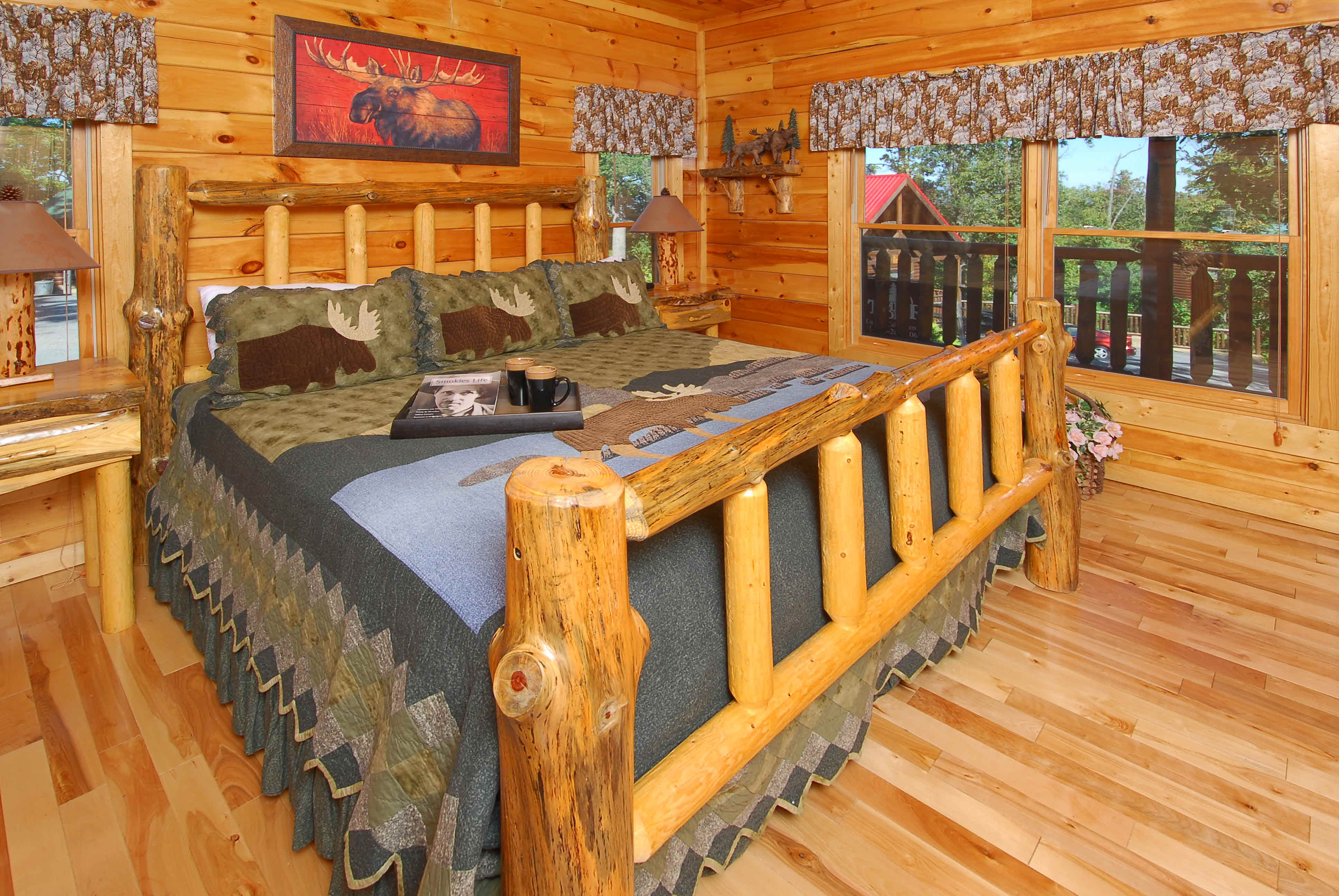 Black Bear Ridge 4 Bedroom Cabin Rental