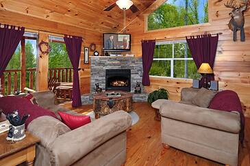 Autumn Bearadise 2 Bedroom Cabin Rental